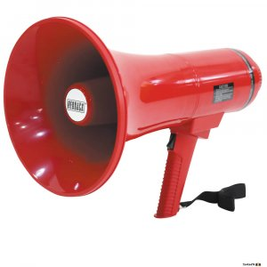 redback megaphone, alert evac megaphone