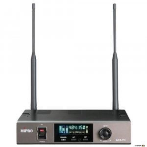 MIPRO ACT71 Single Channel Wideband Diversity Receiver.