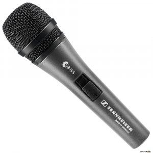 Sennheiser e835-S High-quality cardioid dynamic microphone