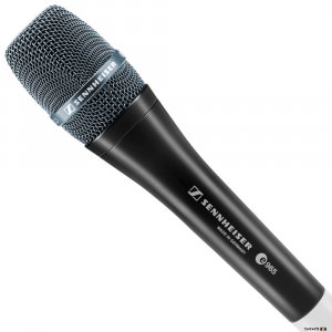 Sennheiser e965 High-end flagship condenser microphone with the sensitivity of a studio condenser, but tough enough for the stage.
