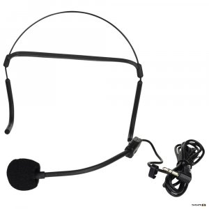 fitness audio HM26L head microphone to suit Fitness audio PP5 Personal voice amplifier.