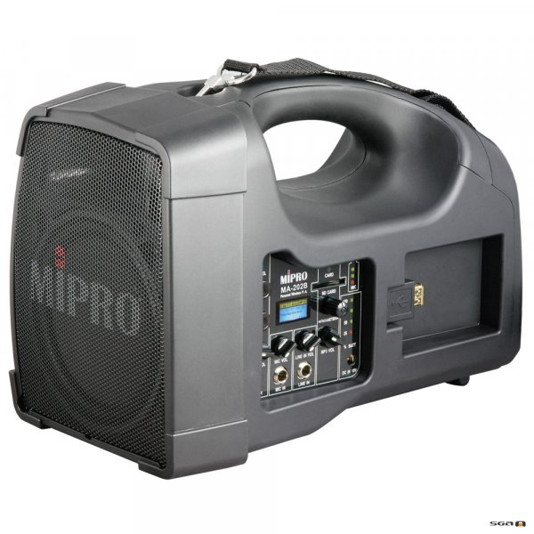 Mipro MA202B-5 PA system with USB
