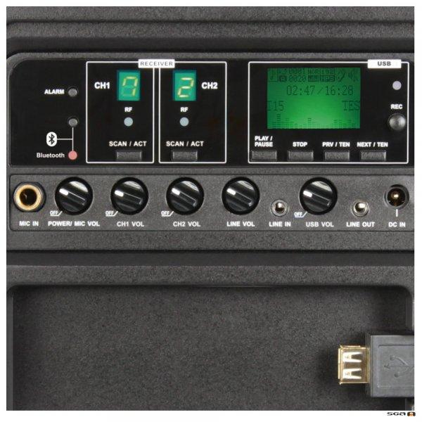 MA303 Dual control panel
