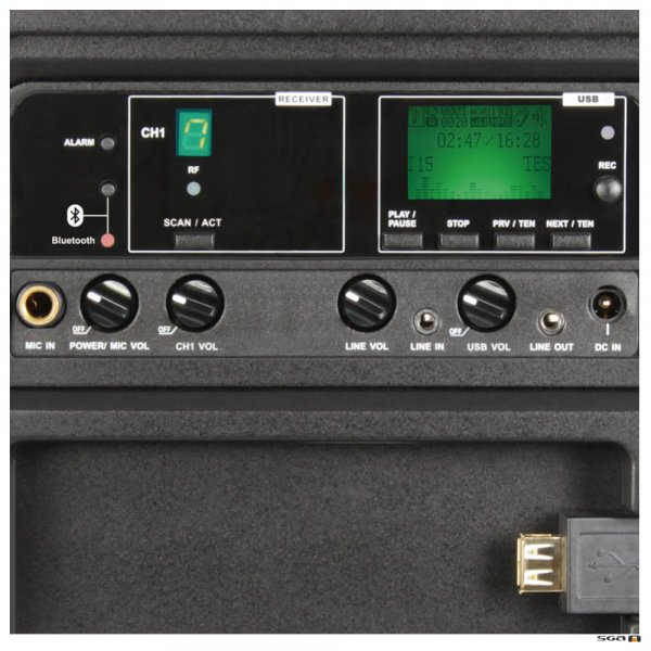 MA303 Single Control Panel