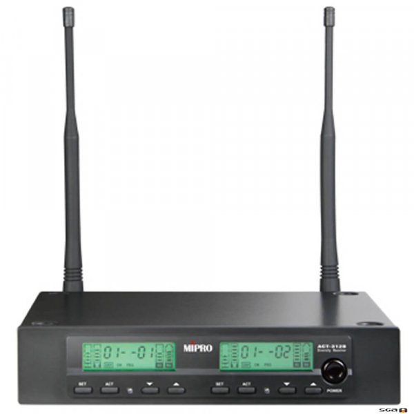 MIPRO ACT312B-5 Dual Channel Diversity Receiver
