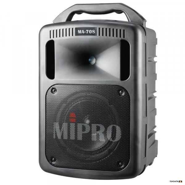 Mipro MA708, MA708PA, pa system, portable pa, PORTABLE PA SPEAKER