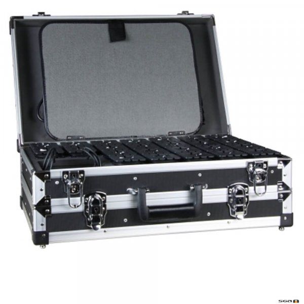 Mipro MTG-100C28 28 Slot, Transmitter, Receiver Storage & Charger Case.