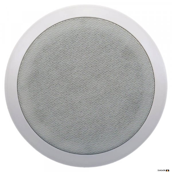 "Australian Monitor QF6CS Dual cone ceiling speaker, 6"" woofer. 100V Taps 10, 5, 2.5, 1.25 watts."