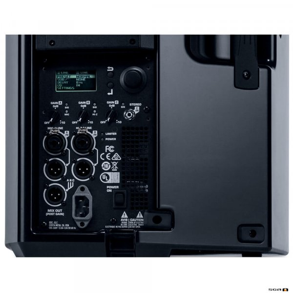 "QSC K12.2 Powered Speaker 12"" 2-Way (2000W) Control Panel"