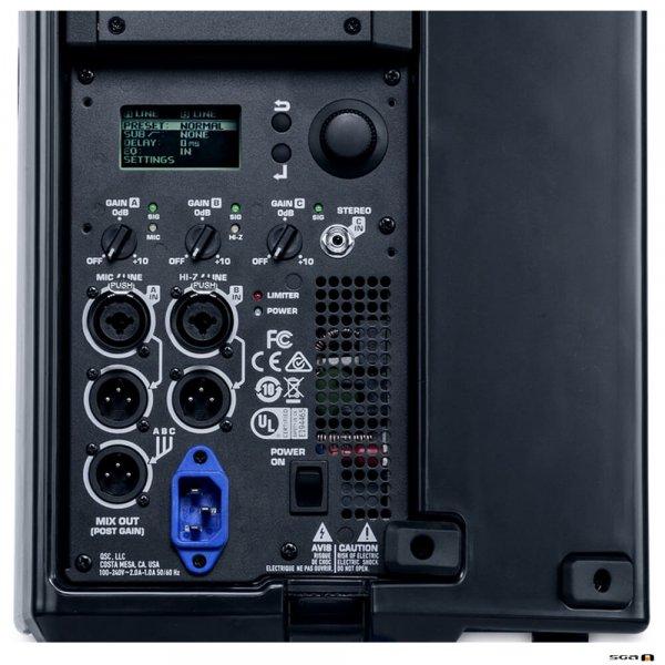 "QSC K8.2 Powered Speaker 8"" 2-Way (2000W) Control Panel"