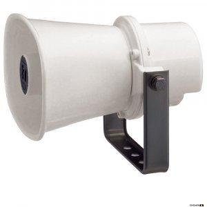 TOA SC610M 10W Paging Horn Speaker (IP65), 315Hz-12.5kHz, 110db SPL @ 1W/1m, 100V line