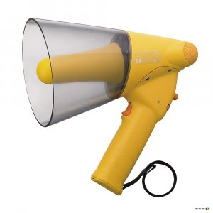 er-1206w, toa -er1206w, toa megaphone with whistle, splash proof megaphone
