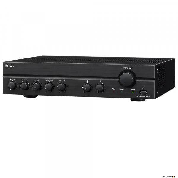 TOA A2240D 240W Class D Mixer Amplifier, 100V only output. 3 x Mic, 2 x Aux, Vox Muting.