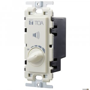 TOA AT063AP is a flush mounting 100V line Speaker Volume Control