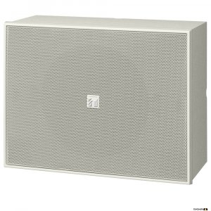 "TOA BS678 6W 6"" Twin Cone Wood Box/Metal Grille, 100V line - white"