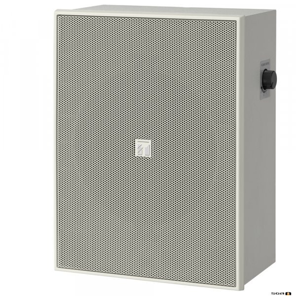 """TOA BS678T 6W 6"""" Twin Cone Wood Box/Metal Grille, with Attenuator, 100V line - white"""