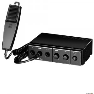 TOA CA115 15W Mobile PA Amplifier, 12V DC Power, includes microphone