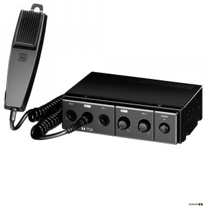 TOA CA130 30W Mobile PA Amplifier, 12V DC Power, includes microphone