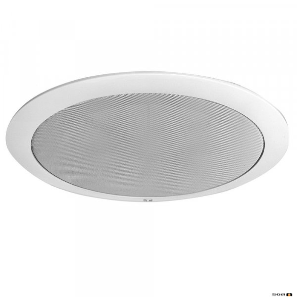 TOA CP-77 grille can easily be attached to the CM-760 speaker, blends with any ceiling