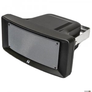 TOA CS154BK 15W Wide Range Horn, IP65, 150Hz - 15kHz, 97db SPL @ 1W/1m, 100V line, Black
