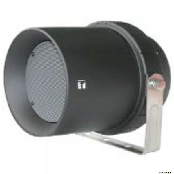 TOA CS64BK 6W Wide Range Horn, IPX4, 130Hz - 13kHz, 96db SPL @ 1W/1m, 100V line, Black