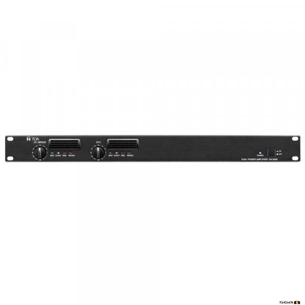 TOA DA250D Class D Power Amplifier 2 x 250W @ 4ohm 1RU High and 6.8kg weight
