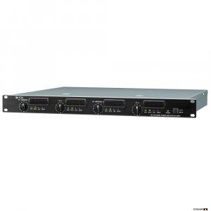 TOA DA250FH Class D Power Amplifier 4 x 250W 100V line 1RU High and 6.8kg weight