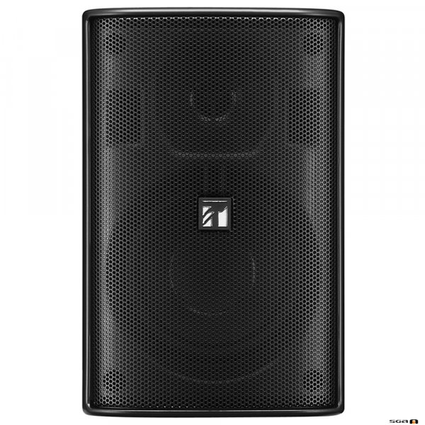 TOA F1000BTWP 15W Black Speaker, IPx4, 2-way Bass Reflex, 100V line only. 85Hz-20kHz, 87dB