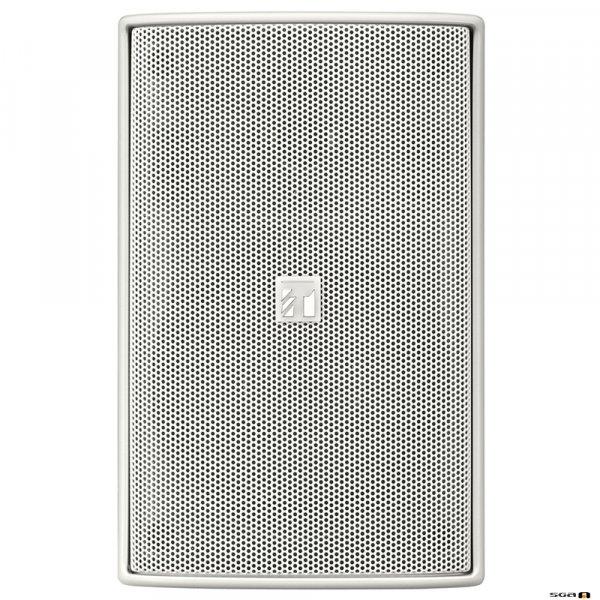 TOA F2000WTWP 60W White Speaker, IPx4, 2-way Bass Reflex, 100V line only. 65Hz-20kHz, 92dB