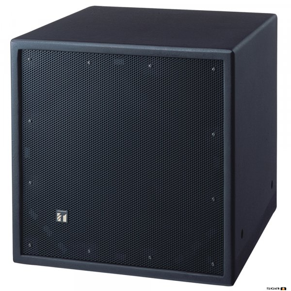 TOA FB120B 600W Black Passive Subwoofer, 8 Ohm, 40Hz-1.2kHz, 90-96dB