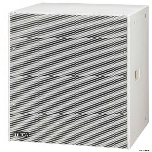 TOA FB150W 600W White Passive Subwoofer, 8 Ohm, 40-400Hz, 93dB