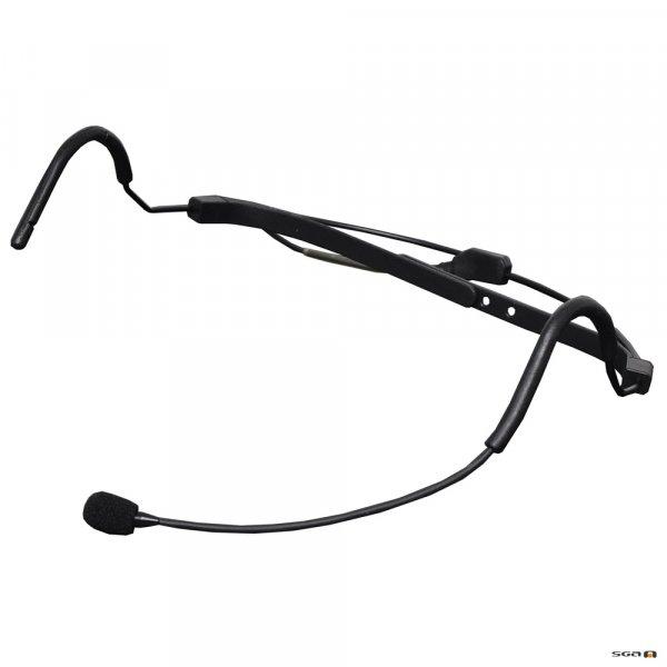 Okayo C7198B Head Microphone Black with 3 pin mini xlr connector