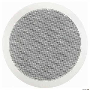 "TOA PC668RC 15W 8"" Dual Cone EVAC Speaker with Metal Grille"