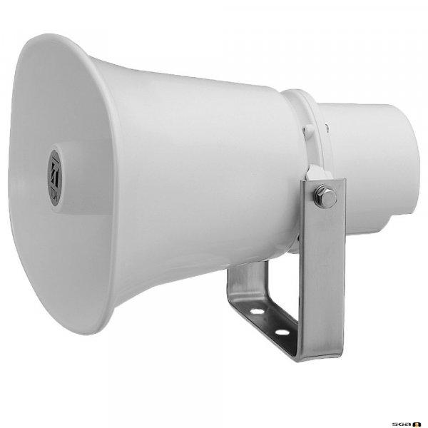 TOA SCP620P 20W Powered Horn Speaker (IP65), 250Hz-10kHz, 113db SPL @ 1W/1m, 12VDC