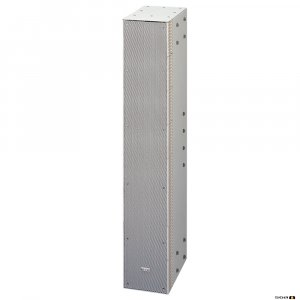 TOA SRS4L 240W Straight Column Speaker, 90deg hor. 0 deg vert. Dispersion, Bass Reflex.