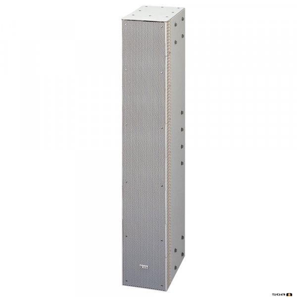TOA SRS4L 240W Straight Column Speaker, 90deg hor. 0 deg vert. Dispersion, Bass Reflex.
