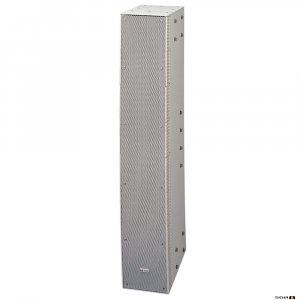 TOA SRS4S 240W Curved Column Speaker, 90 deg hor. 10 deg vert. Dispersion, Bass Reflex