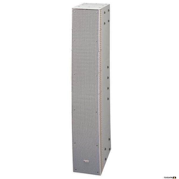 TOA SRS4S 240W Curved Column Speaker, 90 deg hor. 10 deg vert. Dispersion, Bass Reflex