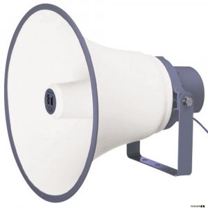 TOA TC615M 15W Reflex Horn Speaker 400mm (IP65), 250Hz-7kHz, 108db SPL @ 1W/1m, 100V