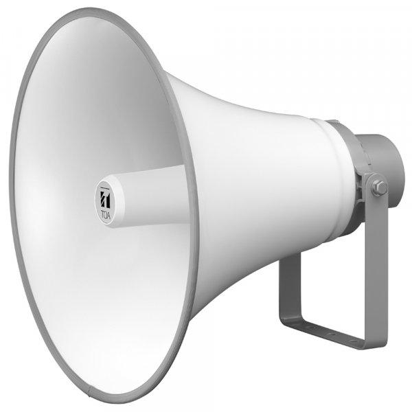 TOA TC631M 30W Reflex Horn Speaker 500mm (IP65), 200Hz-6kHz, 110db SPL @ 1W/1m, 100V