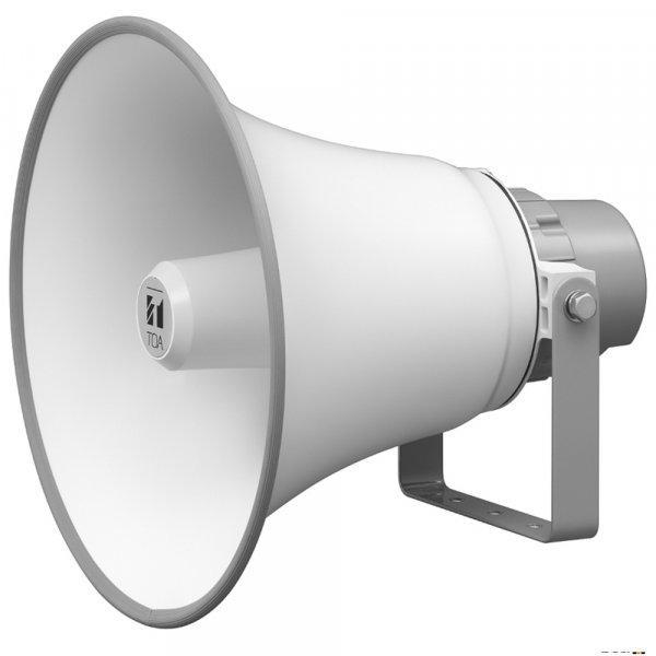 TOA TC651M 50W Reflex Horn Speaker 400mm (IP65), 200Hz-6kHz, 111db SPL @ 1W/1m, 100V