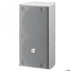 TOA TZ206WWP 20W White Column Speaker, 2x 100 mm drivers, 100V line 150Hz-13kHz, 89dB - IP65
