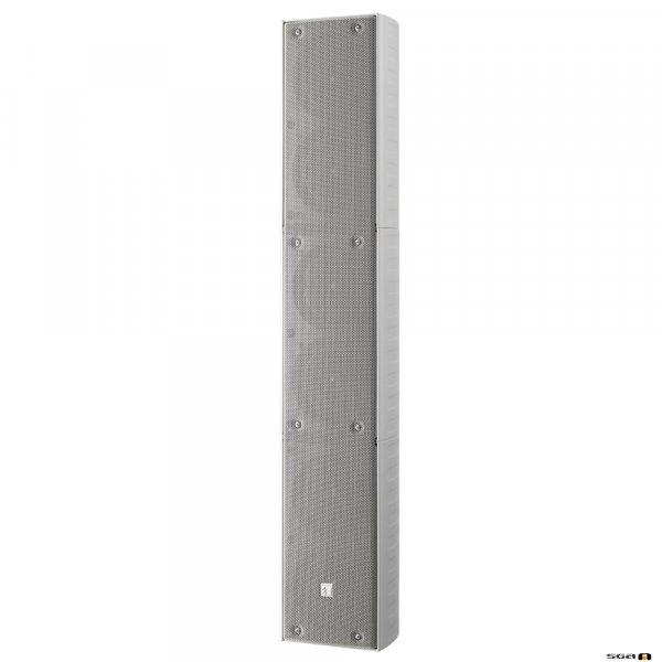 TOA TZ606WWP 60W White Column Speaker, 6x 100 mm drivers, 100V line 150Hz-13kHz, 94dB - IP65