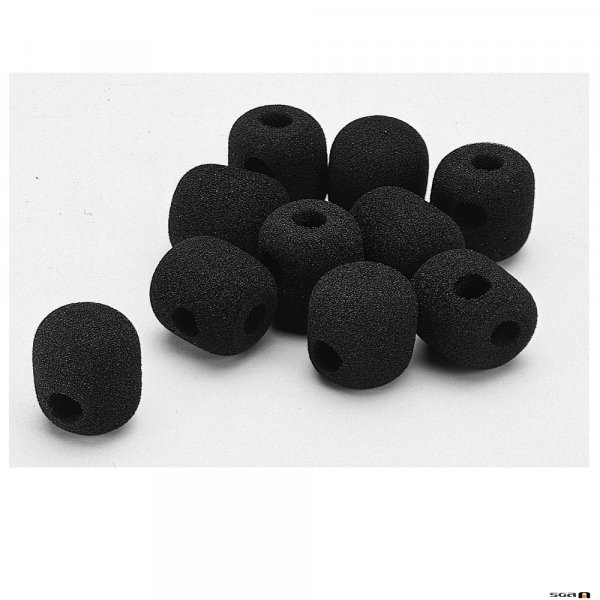 TOA WH4000S Windsocks for headset microphones WH4000A, WH4000H. Pack of 10