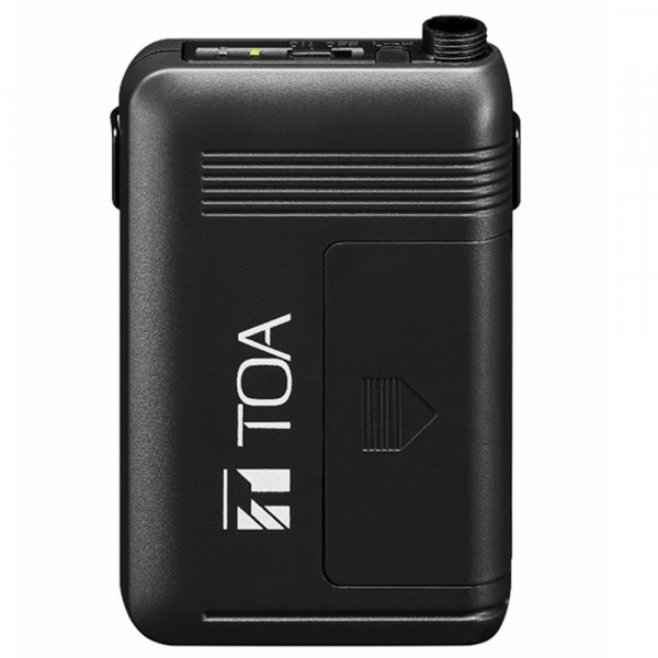 TOA WM5325 64 Channel Body Pack Transmitter. Bands 578-606MHz or 636-666MHz.
