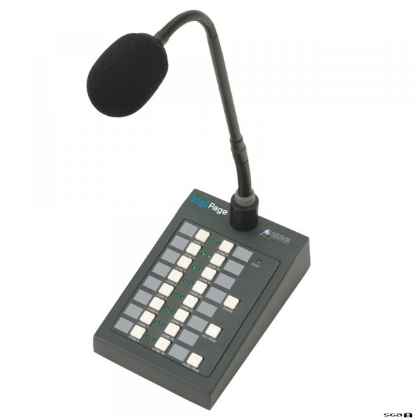 DIGIPAGE DP16M paging station is a simple paging front end for the DigiPage system.