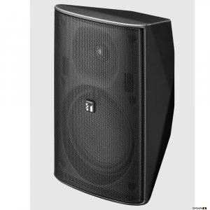 TOA F1300BT 30W (50W into 8 Ohm) Blk Spkr, 2-way Bass Reflex, 100V line or 8 Ohm. 80Hz-20kHz, 90dB