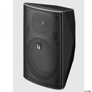 TOA F1300BTWP 30W Black Speaker, IPx4, 2-way Bass Reflex, 100V line only. 80Hz-20kHz, 90dB