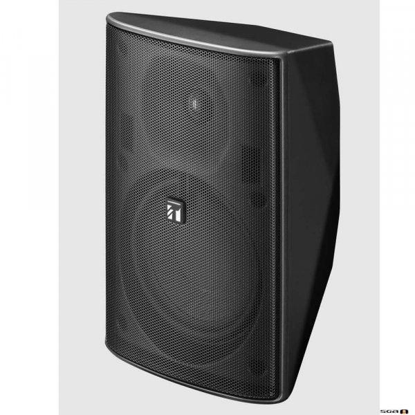 TOA F1300BTWP 30W Black Speaker, IPx4, 2-way Bass Reflex, 100V line only. 80Hz-20kHz, 90dB