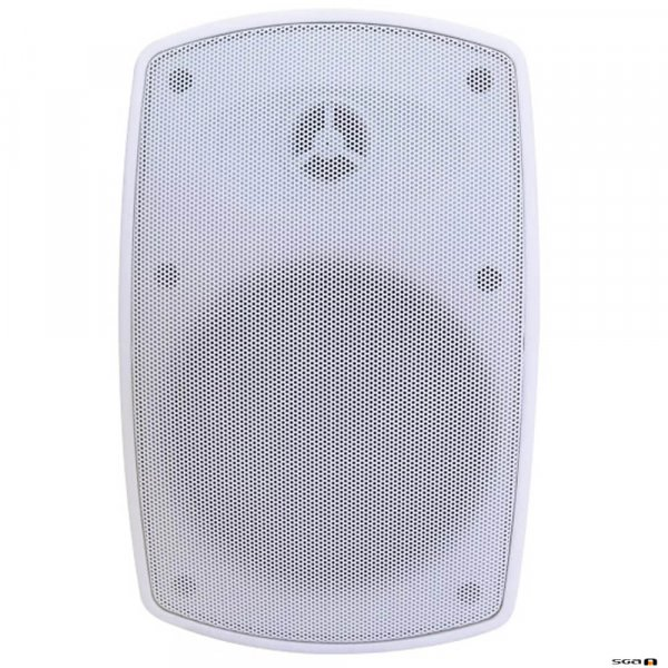 Australian Monitor FLEX15W 15W Wall Mount Speaker. IP65 Rated White, Sold in Pairs